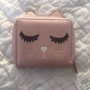 Handbags - Small Cat Wallet NWT